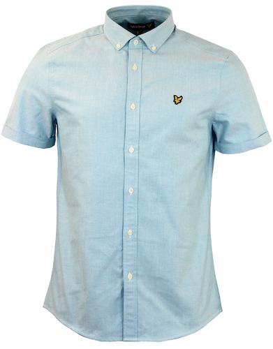 LYLE & SCOTT Mod Button Down SS Plain Oxford Shirt