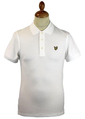 LYLE & SCOTT Retro Mod Plain Golden Eagle Polo (W)