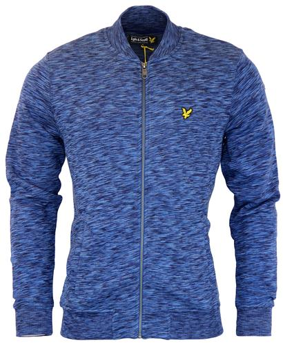 LYLE AND SCOTT RETRO MOD SPACE DYED BOMBER