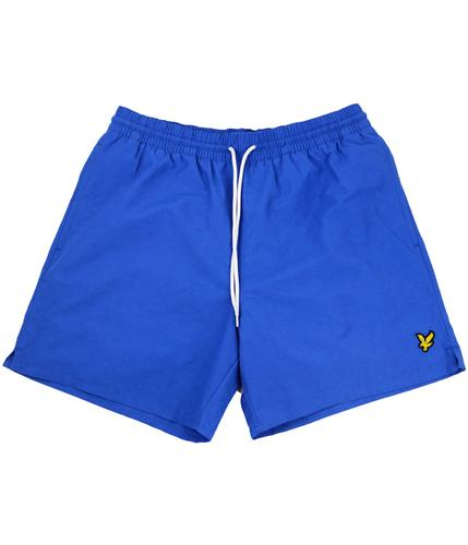 LYLE AND SCOTT RETRO SWIM SHORTS BLUE