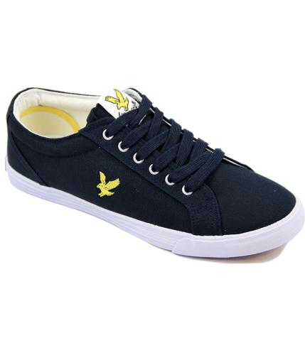 Halket LYLE & SCOTT Retro Canvas Plimsoll Trainers
