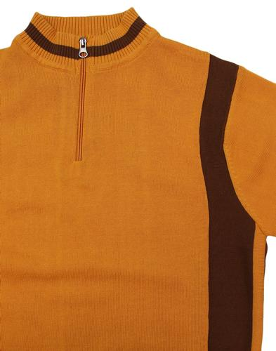 madcap england velocita retro mod cycling top gold