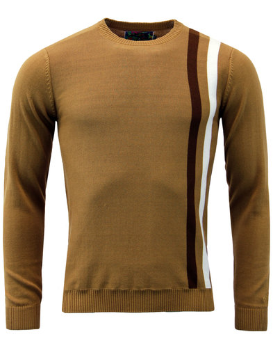 Action MADCAP ENGLAND Retro 60s Mod Racing Jumper