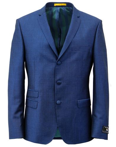 MADCAP ENLAND MOD RETRO SUIT BLUE MOHAIRG