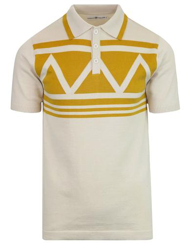 madcap england setting son mod aztec knit polo top
