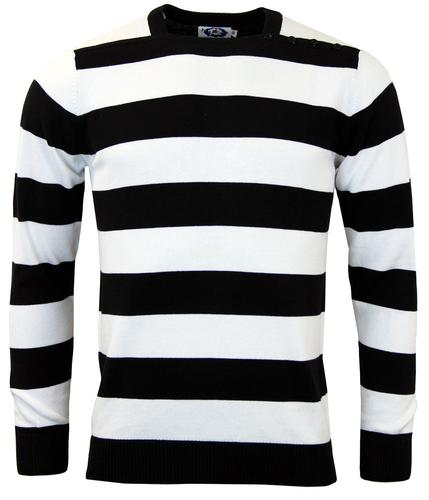 MADCAP ENGLAND RETRO 60s MOD BRIAN JONES JUMPER