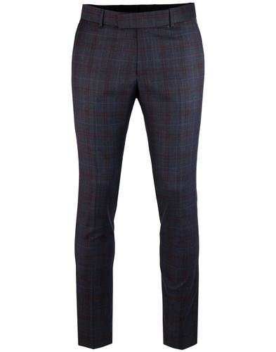madcap england 60s mod plaid check suit trousers