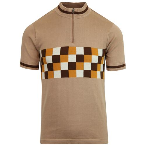 madcap england coppi mod checkerboard cycling top