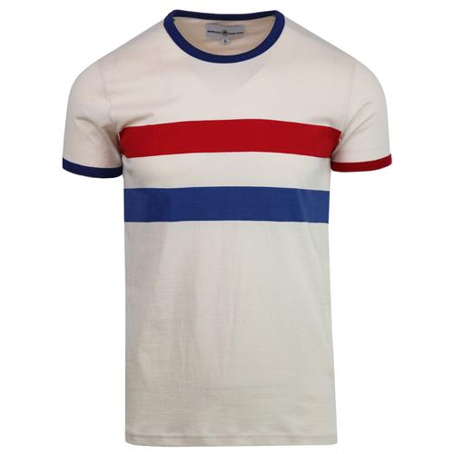 madcap england bedford retro mod chest stripe tee