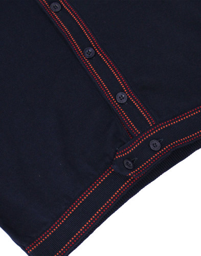 madcap england crawdaddy 1960s mod dash polo navy
