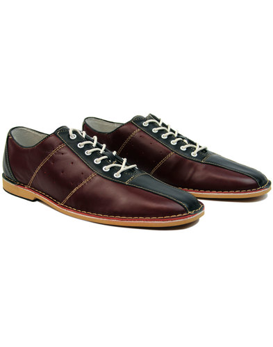 quality design cb0ff 076ac madcap england dude northern soul bowling shoes