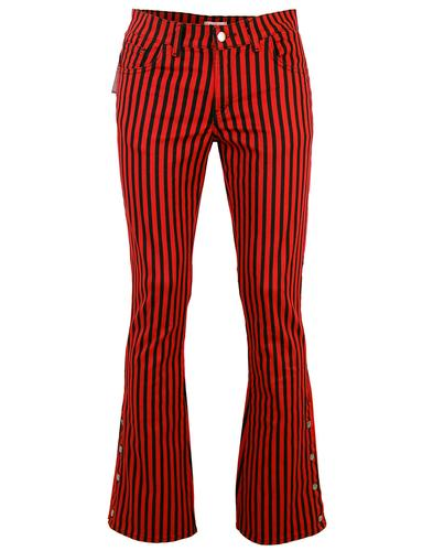 'Duke' - Retro 60s/70s Striped Flares by MADCAP RB