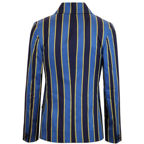 madcap england backbeat mod db boating blazer blue