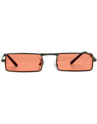 madcap england mcguinn mod granny glasses orange