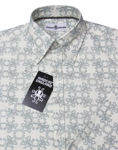 madcap england octopus ride retro 1960s shirt grey