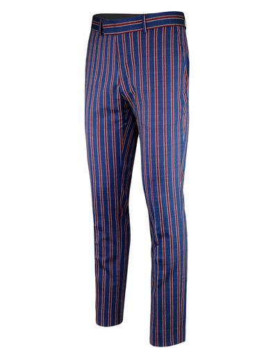 madcap england regatta stripe mod suit trousers