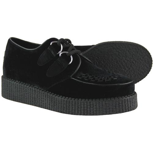 Madcap England Rumble Women's Teddy Girl Rockabilly Velvet Brothel Creeper Shoes