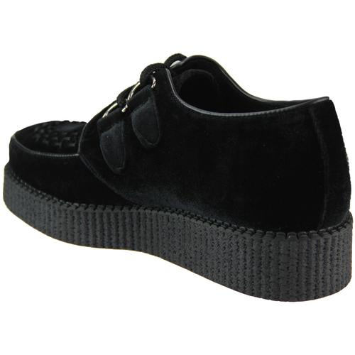 Madcap England Rumble Women's Retro 1950s Velvet Brothel Creepers