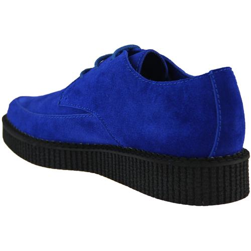 Madcap England Stray Cat Rockabilly Blue Suede Creepers