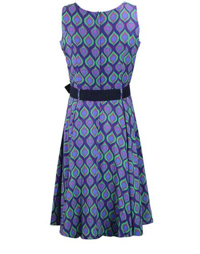 madcap england 1960s mod teardrop circle dress