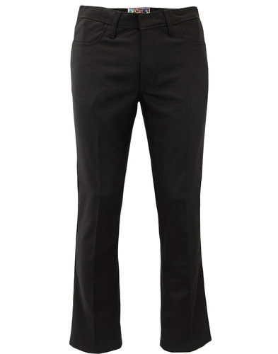 madcap england logan mod bootcut hopsack trousers