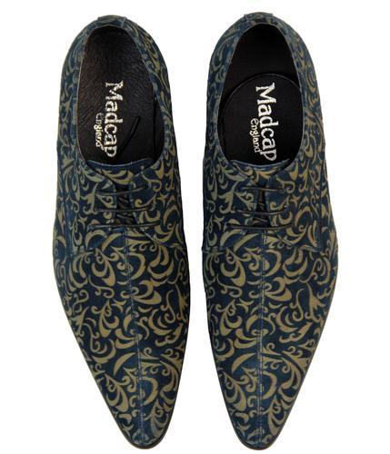 laser cut Paisley Winklepicker Shoes