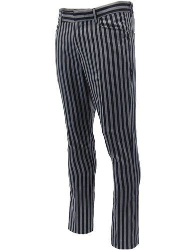 madcap england meadon 60s mod stripe trousers navy