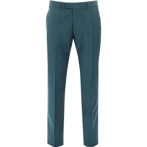 MADCAP ENGLAND Mod Mohair Tonic Trousers (Teal)