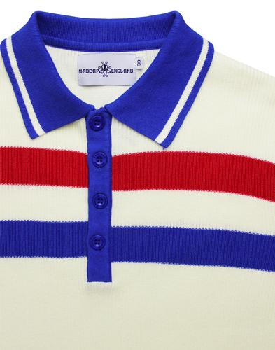 madcap england terry ribbed polo winter white mod