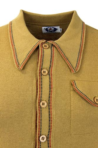 MADCAP ENGLAND RETRO MOD CRAWDADDY POLO