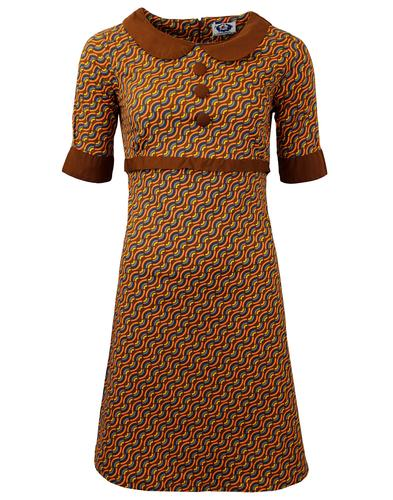MADCAP ENGLAND RETRO MOD RAINBOW DRESS