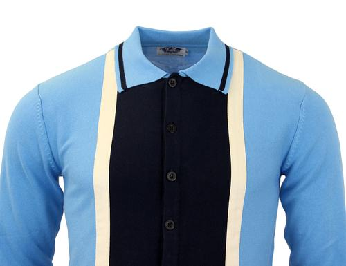 MADCAP ENGLAND RETRO MOD MARRIOTT SUEDE POLO