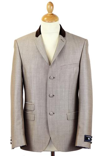 Tailored byMadcap England Mod Mohair Suit Jacket T