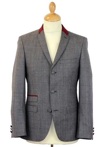 Redford MADCAP ENGLAND 3 Button Check Suit Jacket