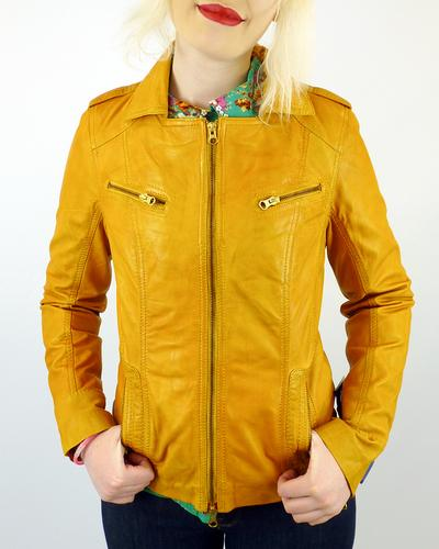 Leather jacket england