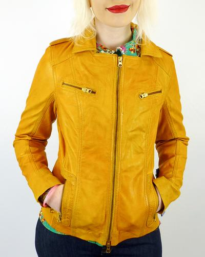 Summerbunch MADCAP ENGLAND Retro Leather Jacket MY