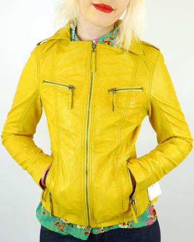 Solana MADCAP ENGLAND Retro Leather Jacket VY
