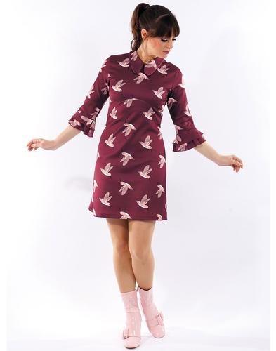 Holly MADEMOISELLE YEYE Retro 60s Mod Dress