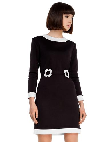 MARMALADE Retro 60s Mod Boat Neck Collar Dress