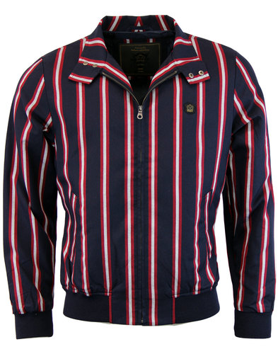 Witton MERC Retro Mod Boating Stripe Harrington