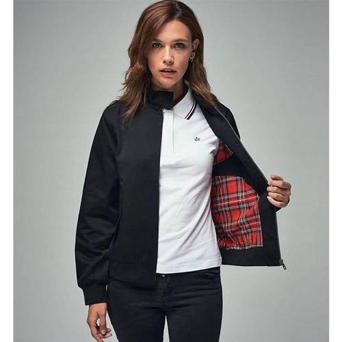 Merc Women's Mod Harrington Jacket in Black