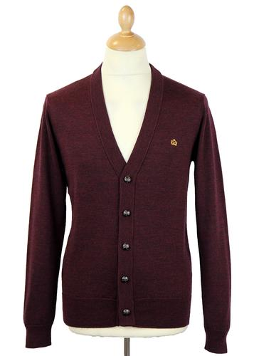 Harris MERC Retro 60s V-Neck Mod Knit Cardigan WM