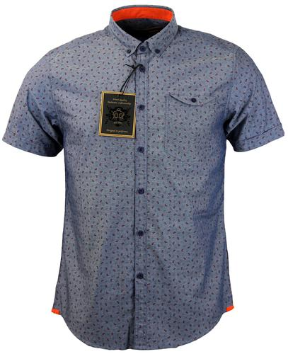 MERC RETRO MOD 60S MINI PAISLEY SHIRT