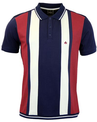 MERC RETRO MOD 60s POLO SHIRT NAVY