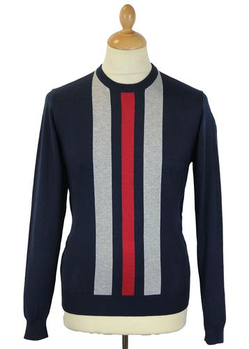 MERC RETRO MOD RACING JUMPER SEAHAM NAVY