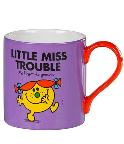 Little Miss Trouble - 70s Mr Men & Little Miss Mug