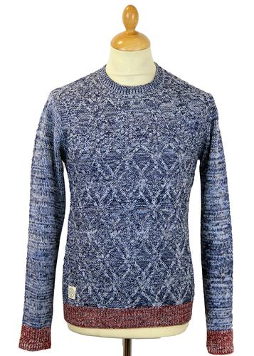 NATIVE YOUTH RETRO MOD CABLE KNIT JUMPER