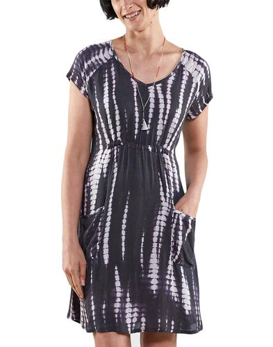 NOMADS Retro Sixties Organic Cotton Tie Dye Dress