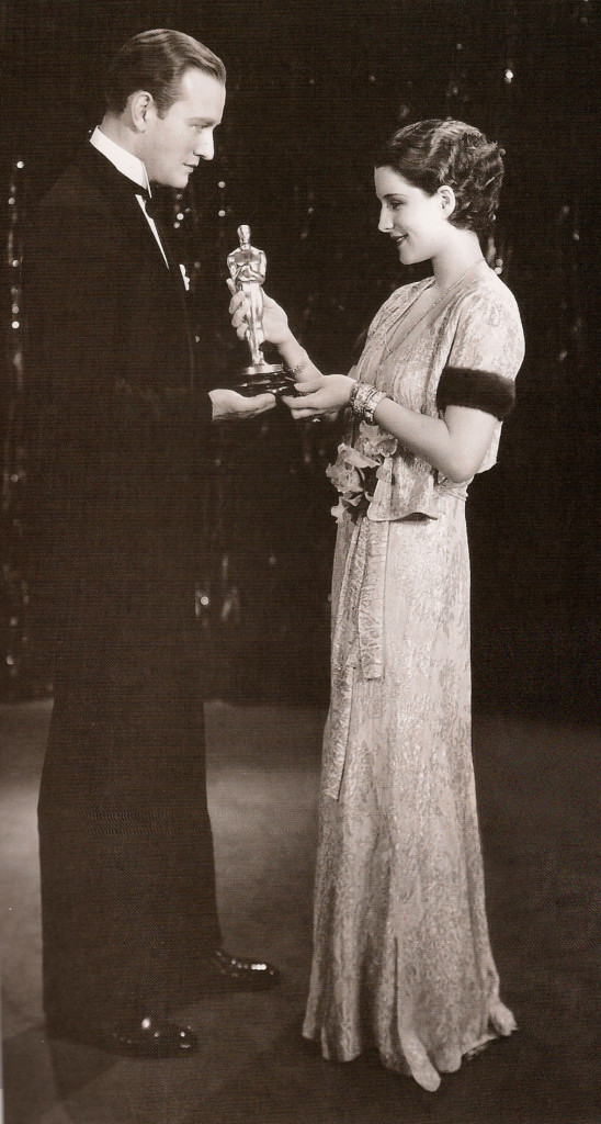 Norma Shearer at the 3rd ever Oscars Ceremony