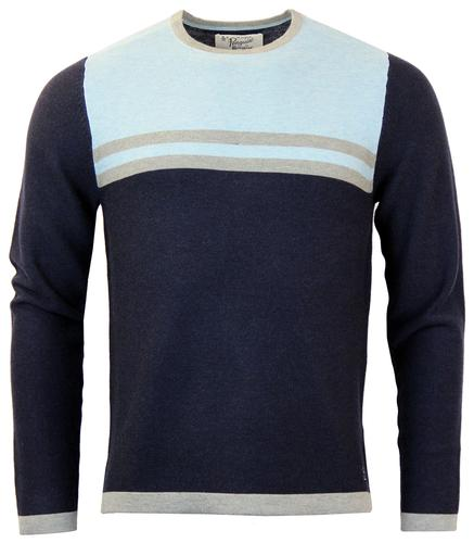 Madison ORIGINAL PENGUIN Retro Chest Stripe Jumper